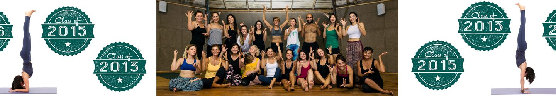 My Certified Yoga Teachers